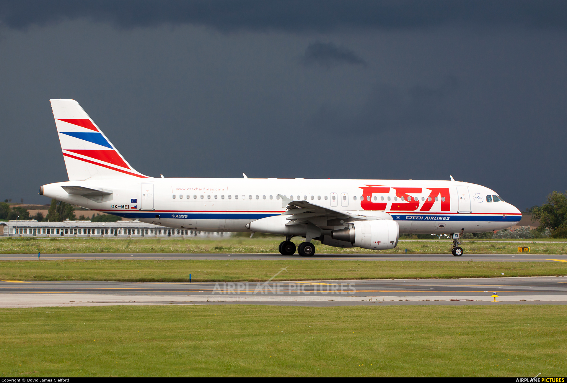 CSA - Czech Airlines OK-MEI aircraft at Prague - Václav Havel