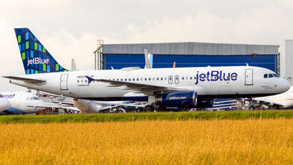 N653JB - JetBlue Airways Airbus A320