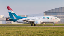 LX-LGS - Luxair Boeing 737-700 aircraft