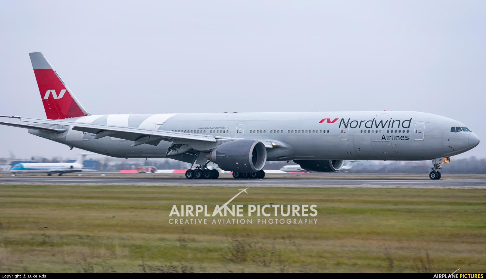 Nordwind Airlines VP-BJP aircraft at Bucharest - Henri Coandă