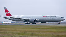 Rare visit of Nordwind Boeing 777 to Bucharest title=