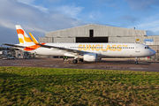First aicraft of Sunclass Airlines wears the company's own livery title=
