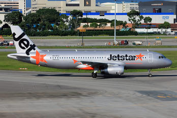 VH-VFJ - Jetstar Airways Airbus A320