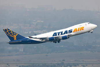 N498MC - Atlas Air Boeing 747-400F, ERF