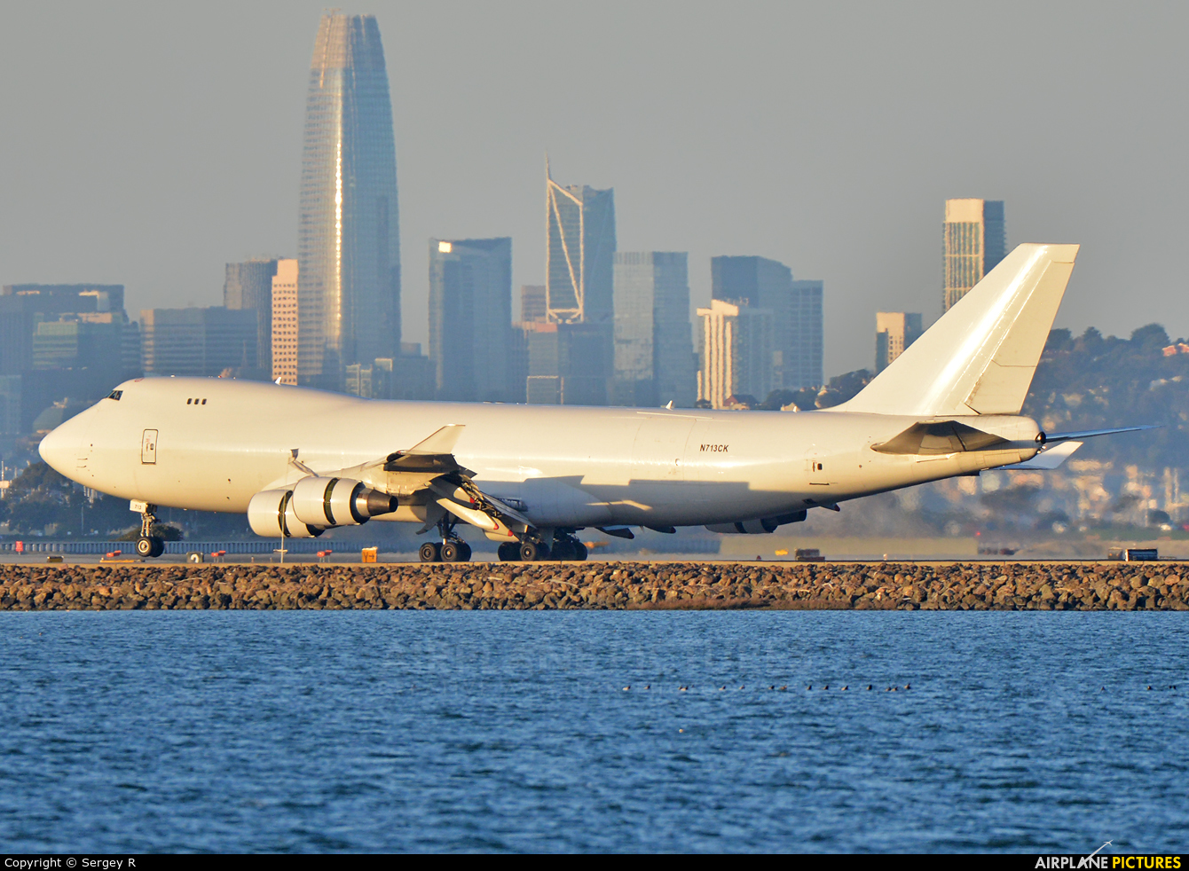 Kalitta Air N713CK aircraft at San Francisco Intl
