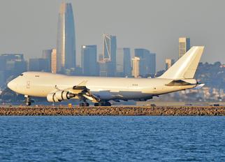 N713CK - Kalitta Air Boeing 747-400F, ERF