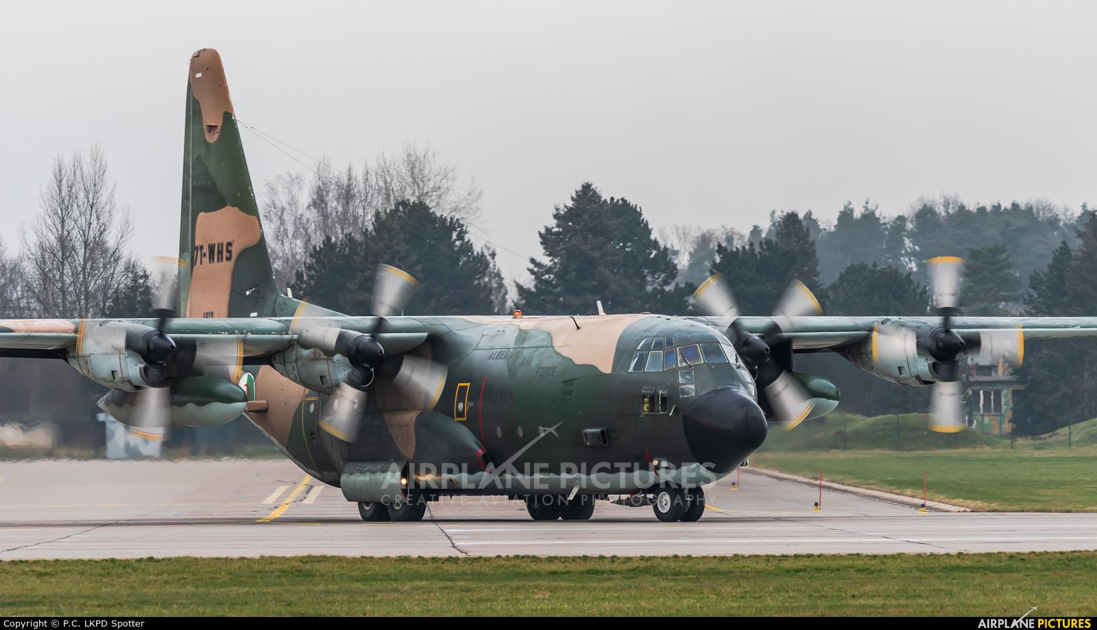 Algeria - Air Force 7T-WHS aircraft at Pardubice