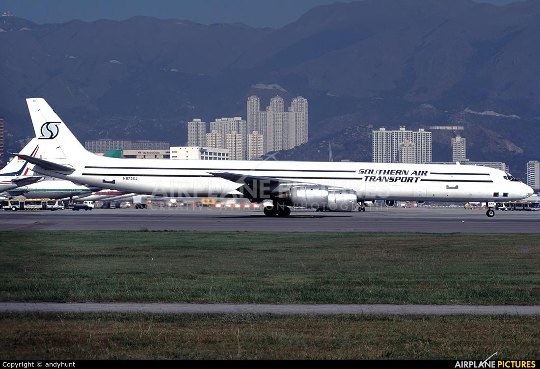 Southern Air Transport N873SJ aircraft at HKG - Kai Tak Intl CLOSED