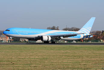 OO-JAP - TUI Airlines Belgium Boeing 767-300ER
