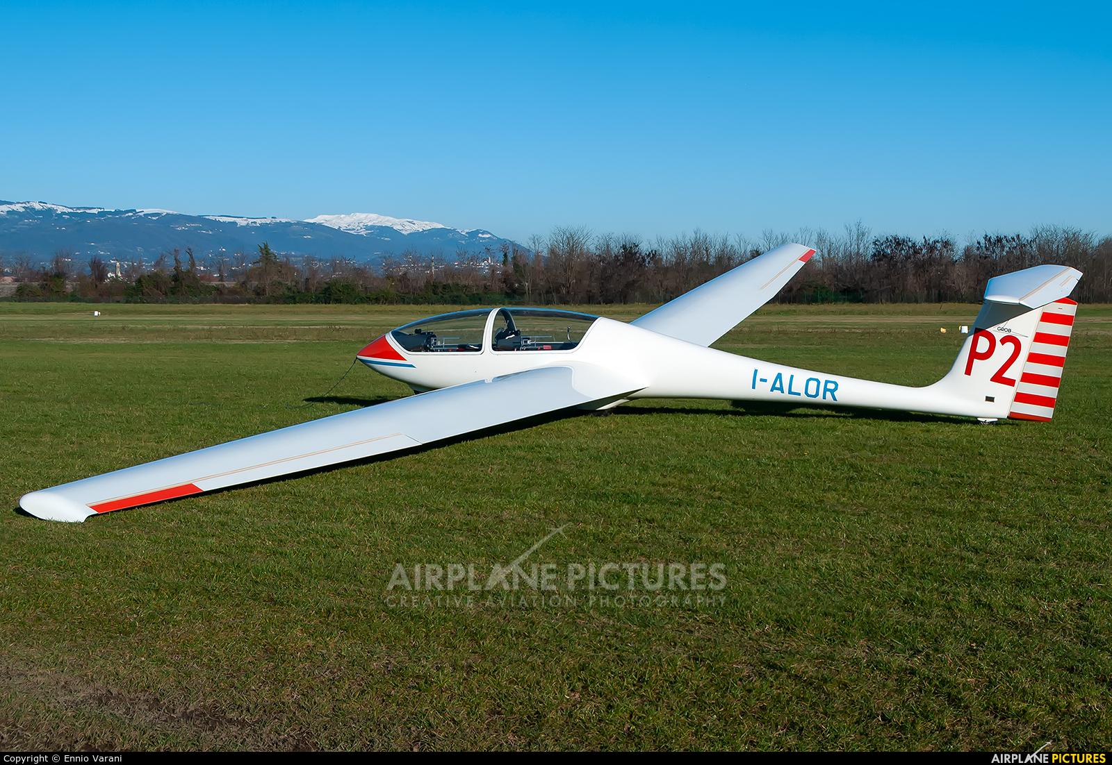 Private I-ALOR aircraft at Thiene - Arturo Ferrarin