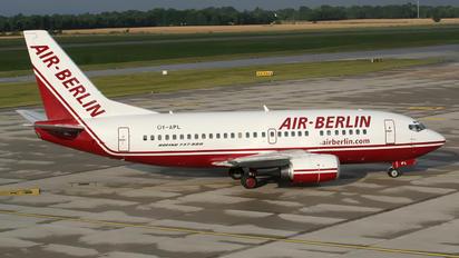 OY-APL - DBA Boeing 737-500
