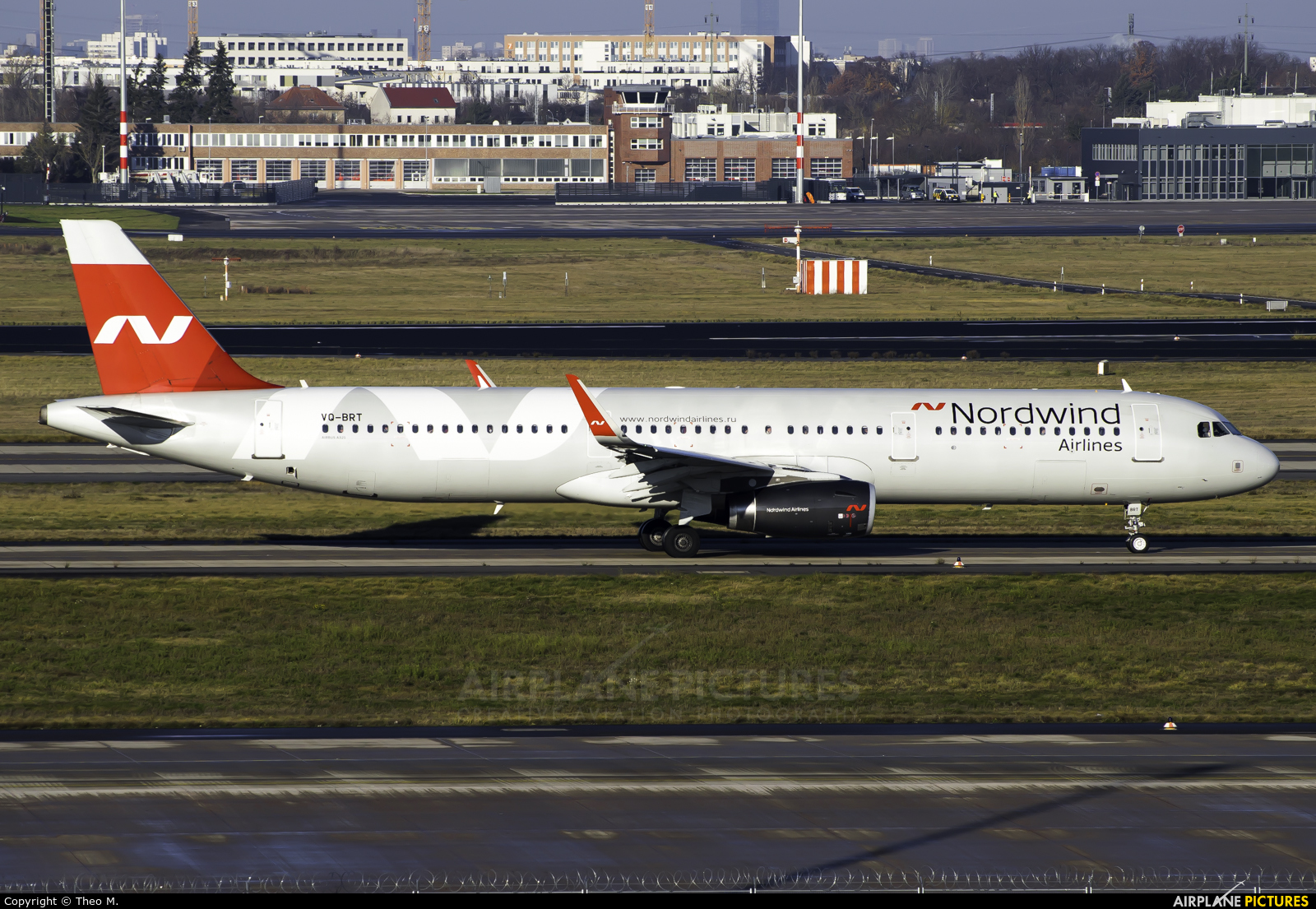 Nordwind Airlines VQ-BRT aircraft at Berlin - Brandenburg