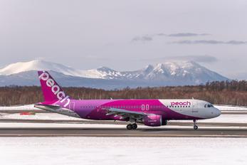 JA805P - Peach Aviation Airbus A320