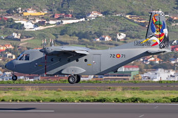 T.12B-71 - Spain - Air Force Casa C-212 Aviocar