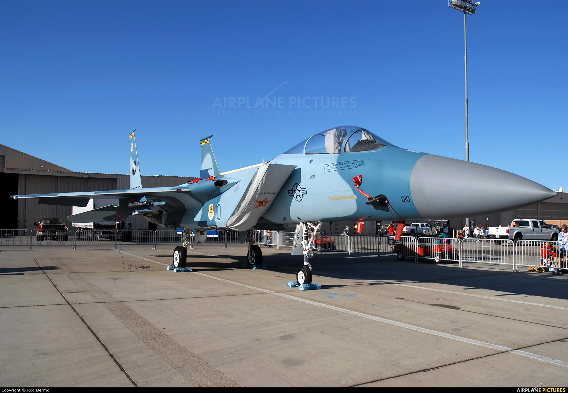 USA - Air National Guard 80-0010 aircraft at Nellis AFB