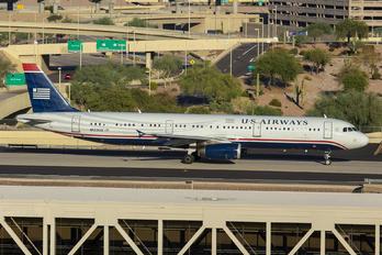 N523UW - US Airways Airbus A321