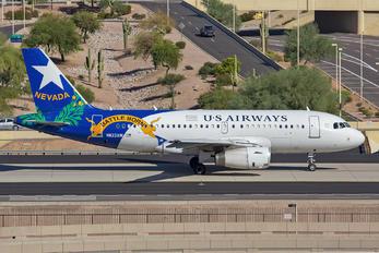 N822AW - US Airways Airbus A319