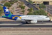 N822AW - US Airways Airbus A319 aircraft