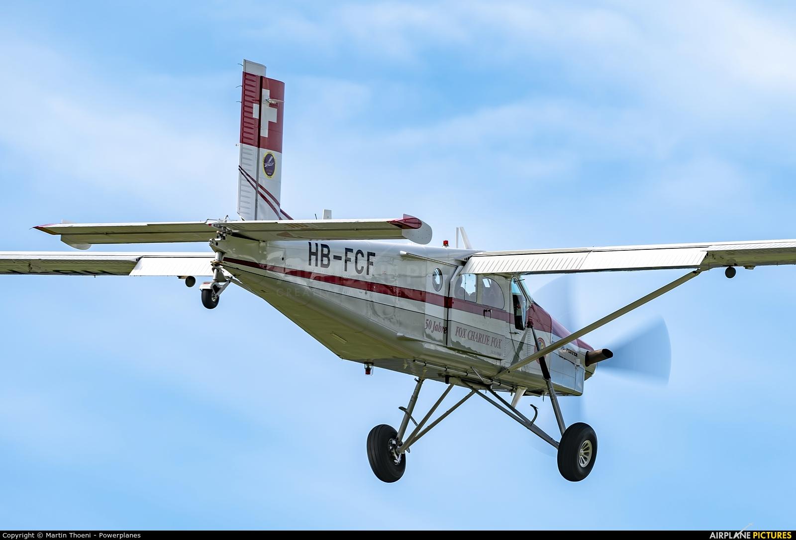 Switzerland - Armasuisse HB-FCF aircraft at Meiringen