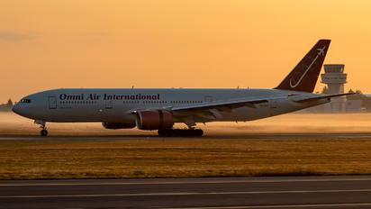 N846AX - Omni Air International Boeing 777-200ER