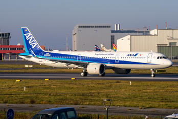 D-ATAK - ANA - All Nippon Airways Airbus A321 NEO