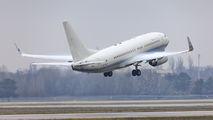 Hillwood Boeing 737BBJ at Kyiv Borispol title=