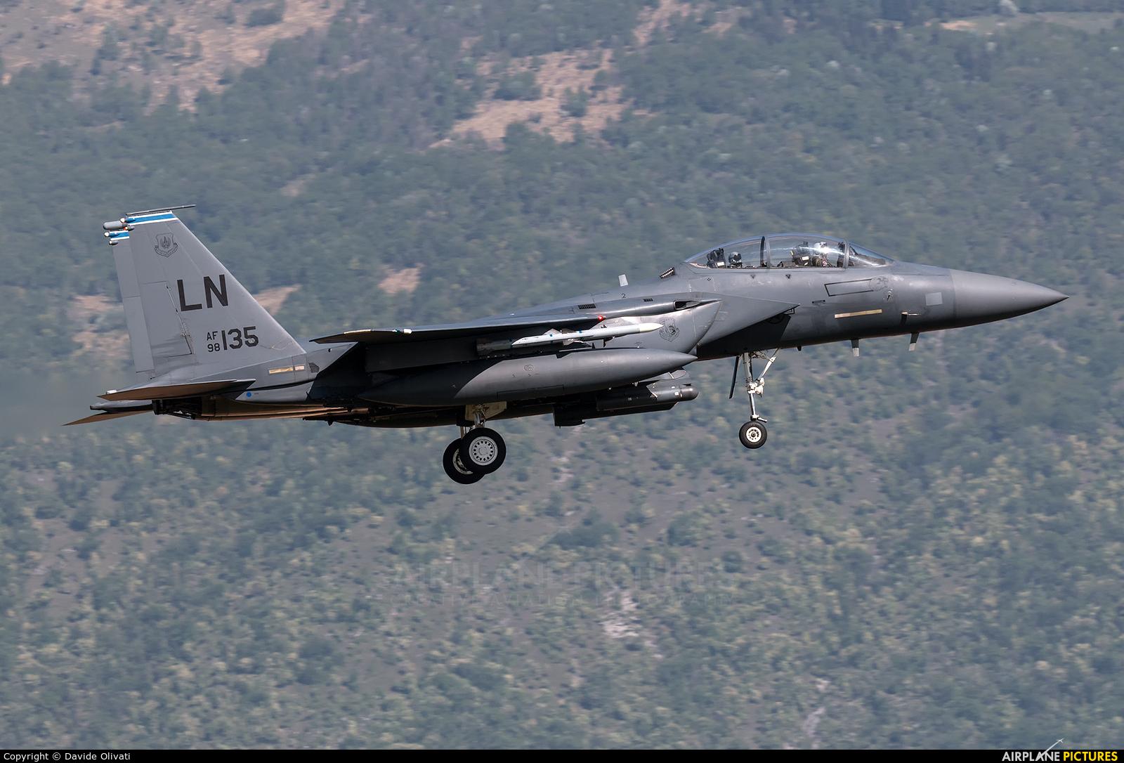 USA - Air Force 98-0135 aircraft at Aviano