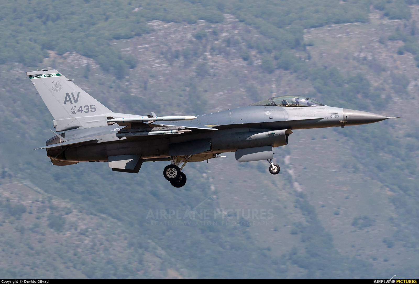 USA - Air Force 88-0435 aircraft at Aviano
