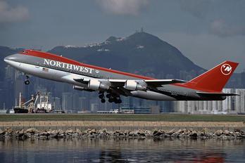 N627US - Northwest Airlines Boeing 747-200