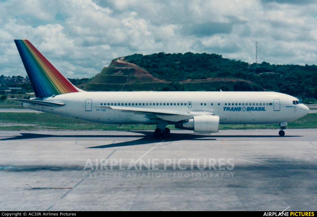 Transbrasil PT-TAH aircraft at Recife
