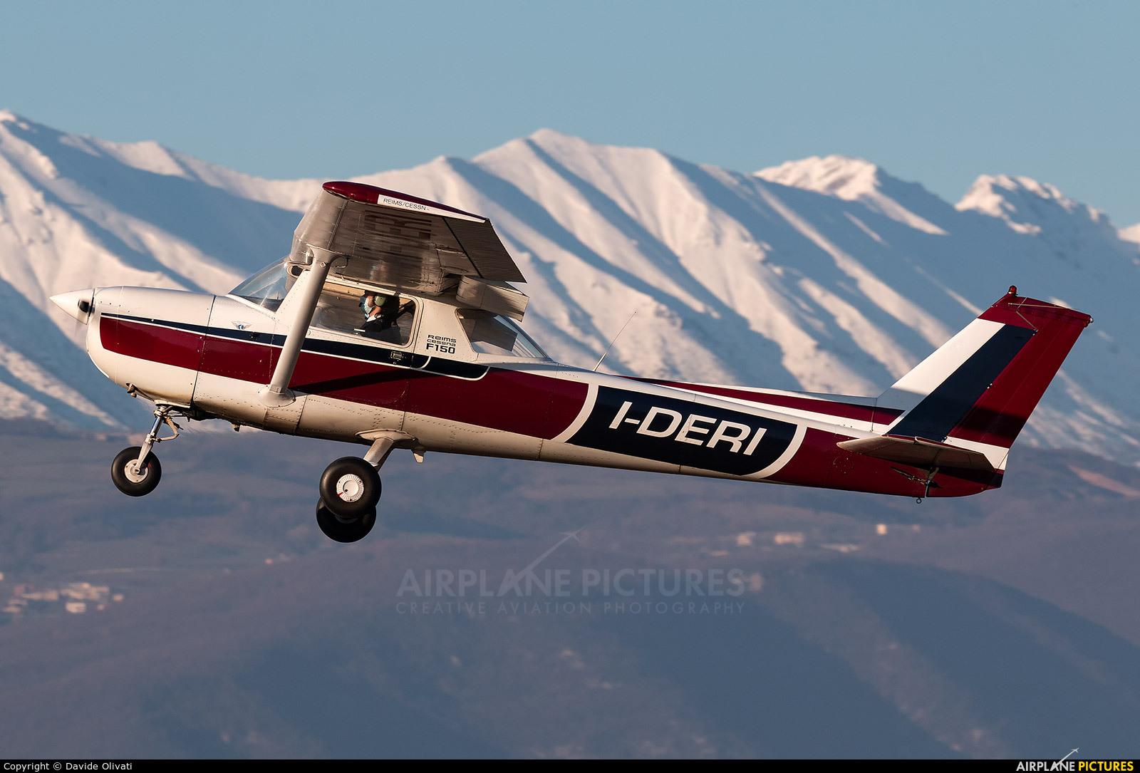 Private I-DERI aircraft at Verona - Boscomantico