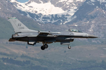 89-2016 - USA - Air Force Lockheed Martin F-16CM