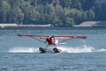 HB-ORK - Private Piper PA-18 Super Cub