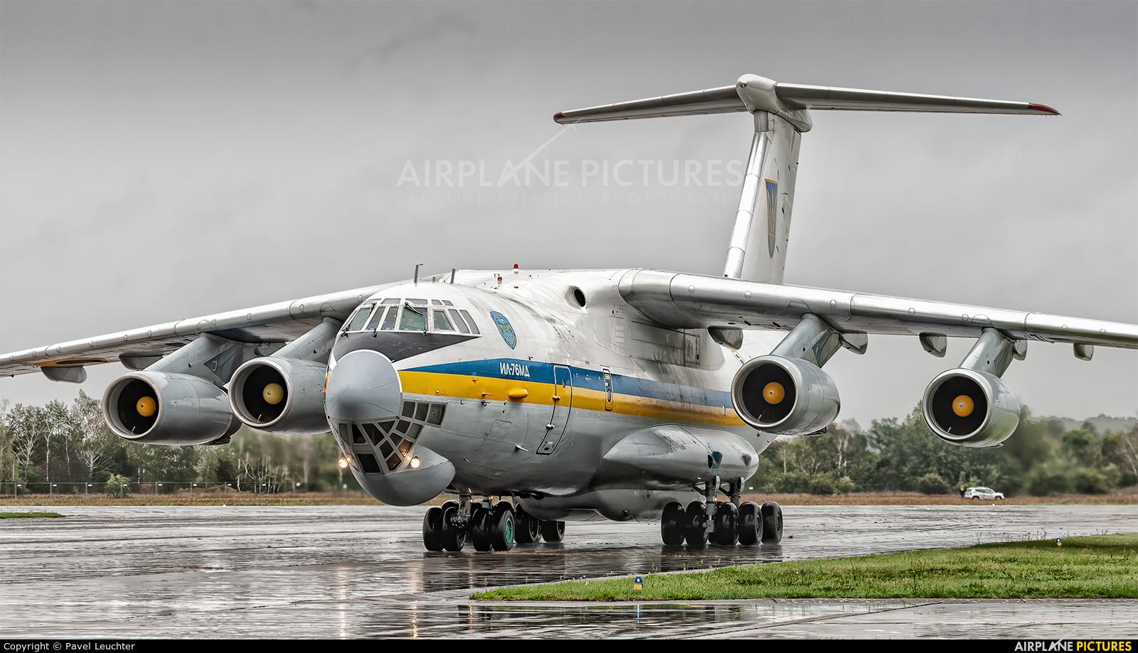 Ukraine - Air Force 76413 aircraft at Hradec Králové