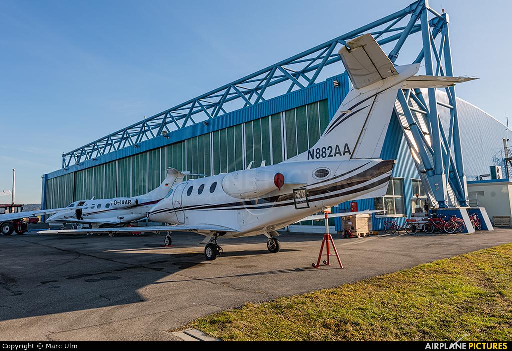 Private N882AA aircraft at Augsburg