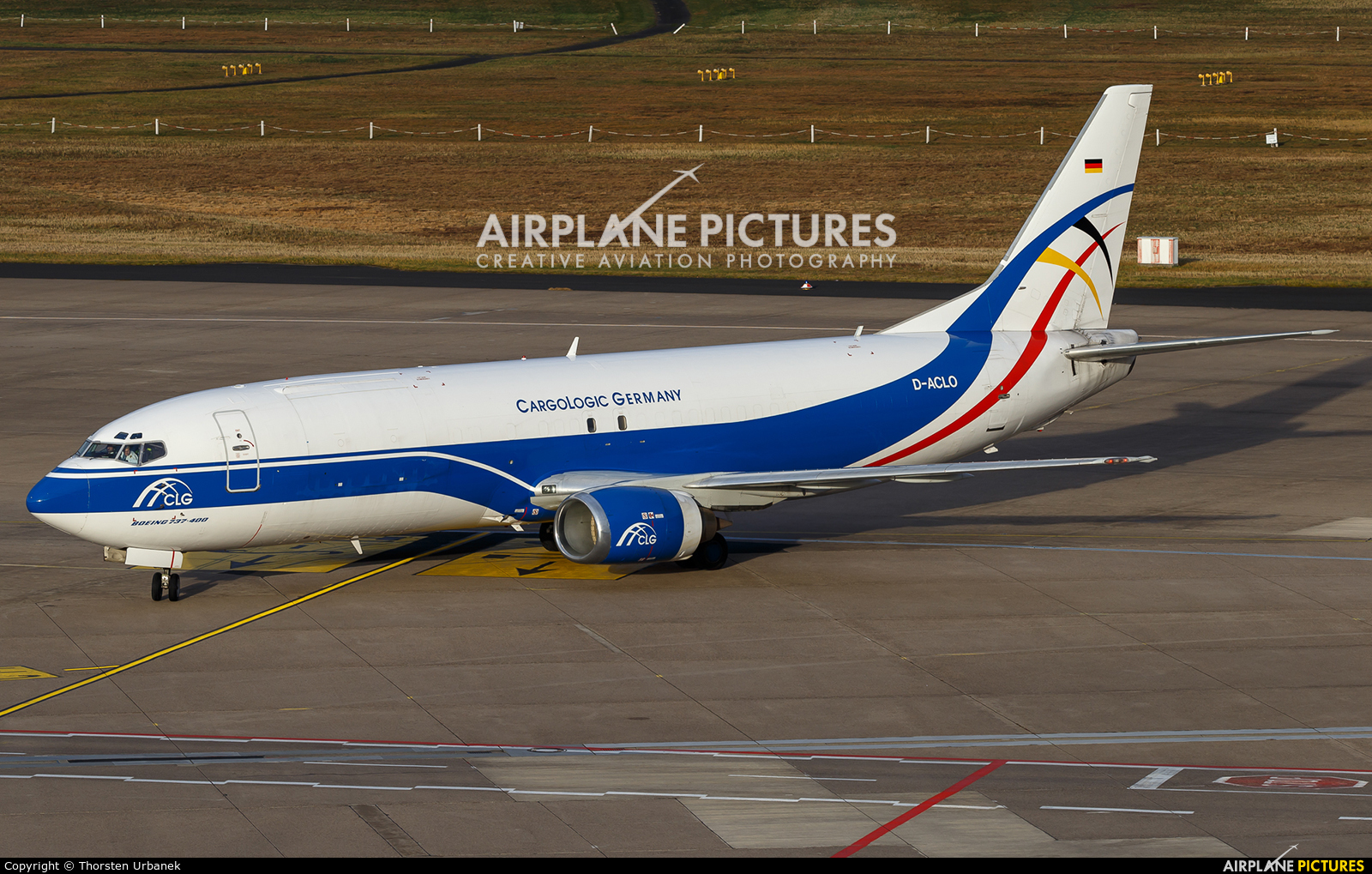 CargoLogic Germany D-ACLO aircraft at Cologne Bonn - Konrad Adenauer