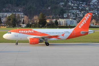 G-EZAJ - easyJet Airbus A319