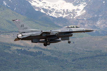 89-2102 - USA - Air Force General Dynamics F-16CG Night Falcon