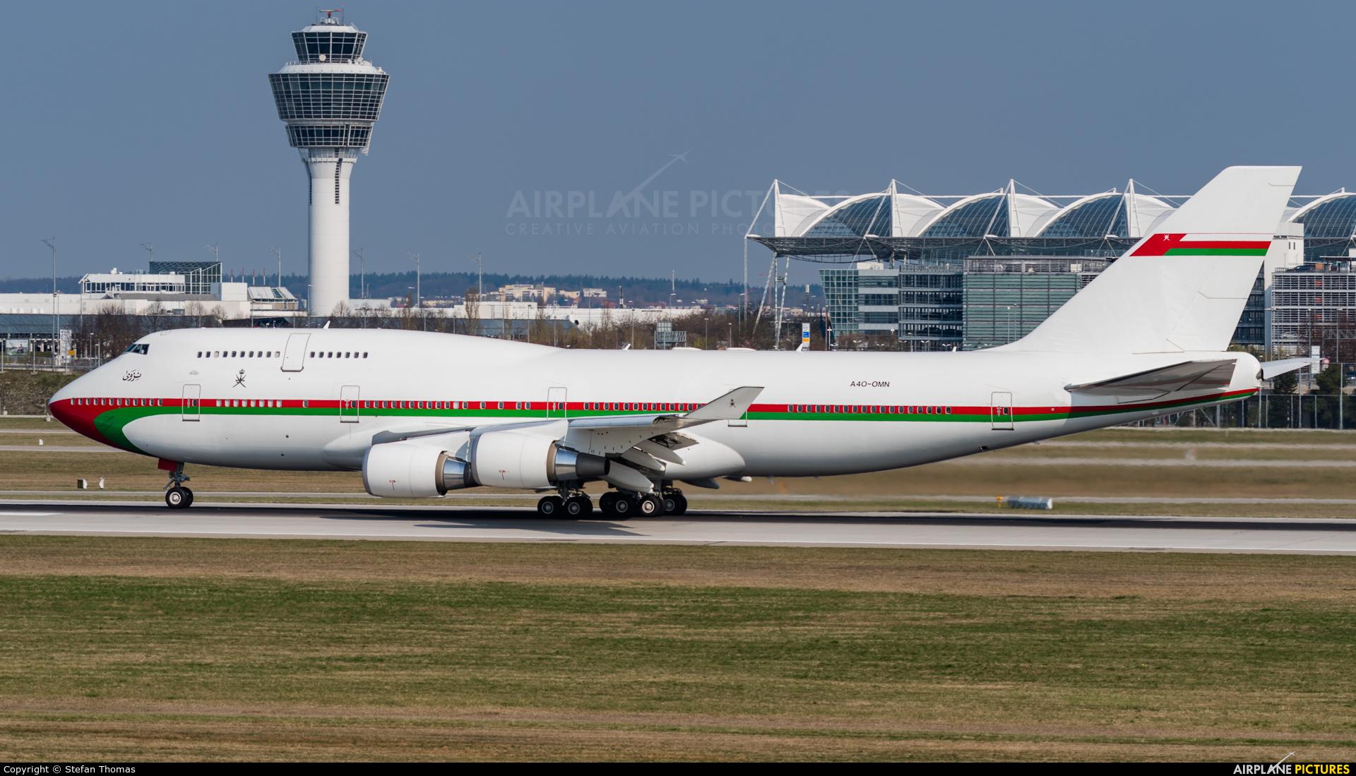 Oman - Royal Flight A4O-OMN aircraft at Munich