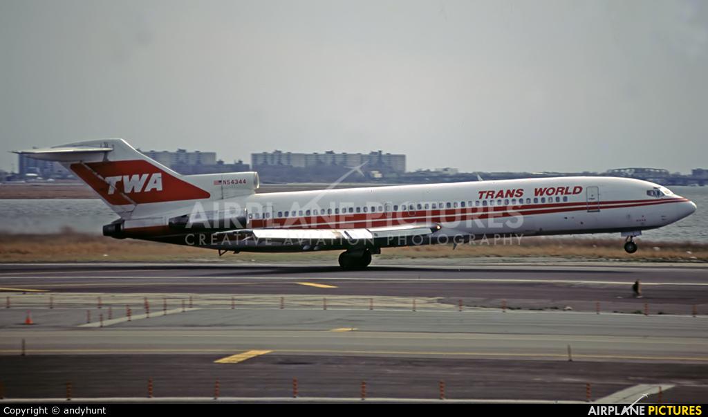 TWA N54344 aircraft at New York - John F. Kennedy Intl
