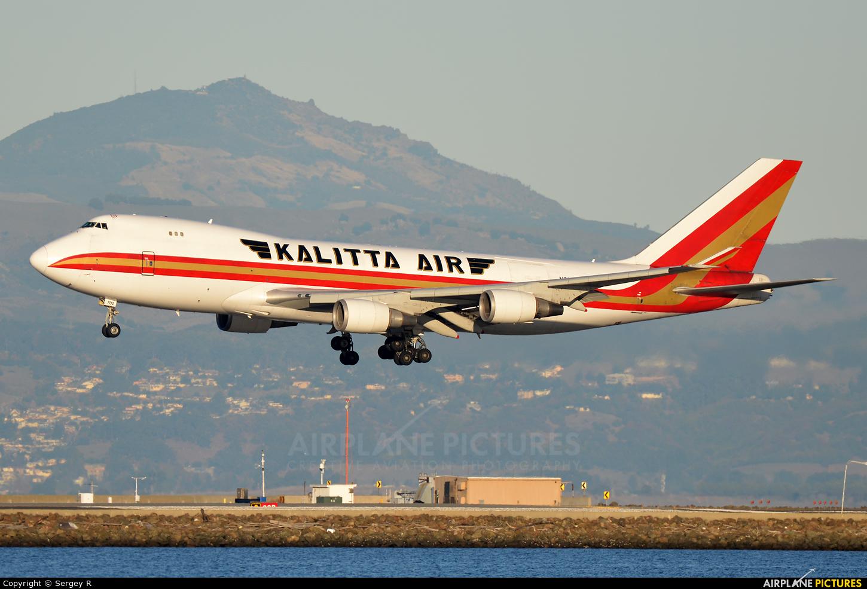 Kalitta Air N700CK aircraft at San Francisco Intl