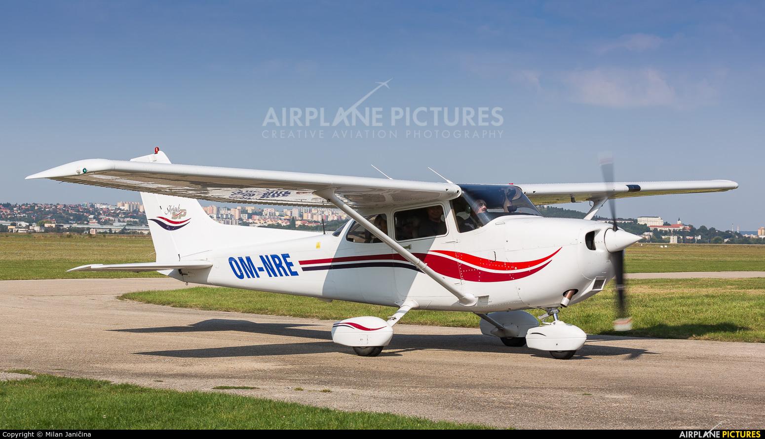 Private OM-NRE aircraft at Nitra