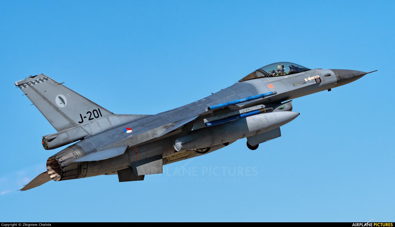 Netherlands - Air Force J-201 aircraft at Orange - Caritat