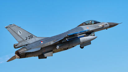 J-201 - Netherlands - Air Force General Dynamics F-16A Fighting Falcon