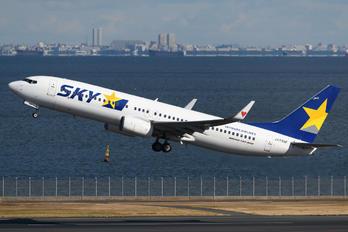 JA73NF - Skymark Airlines Boeing 737-800