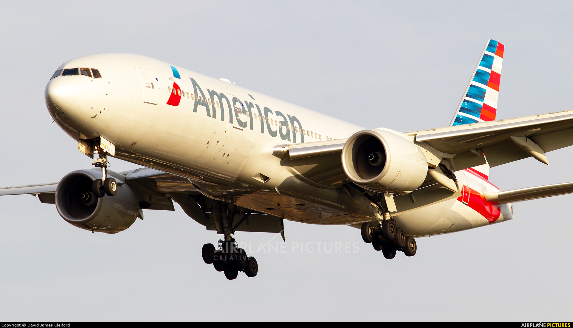 American Airlines N756AM aircraft at London - Heathrow