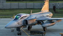 34 - Hungary - Air Force SAAB JAS 39C Gripen aircraft