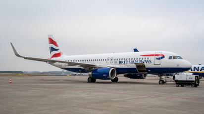 G-EUYS - British Airways Airbus A320