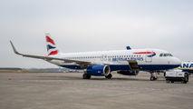 G-EUYS - British Airways Airbus A320 aircraft