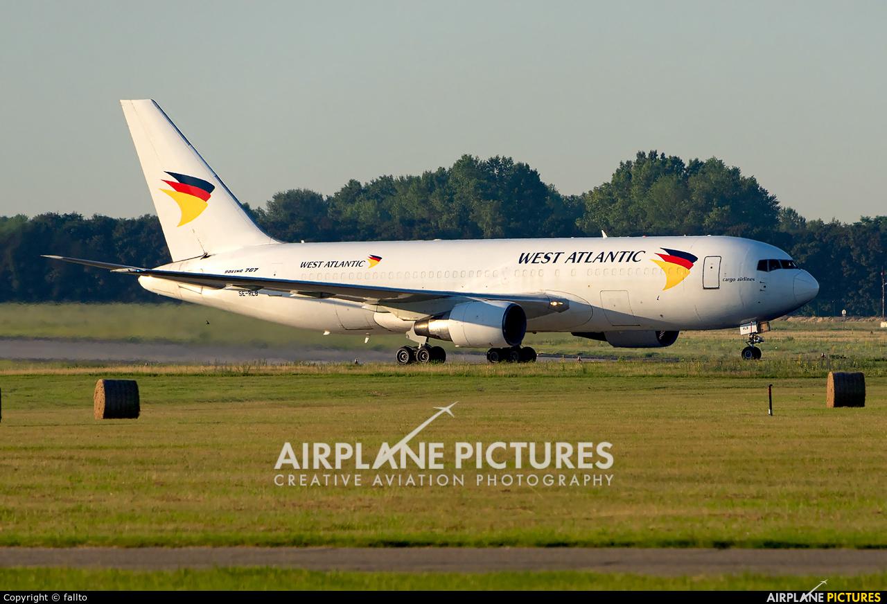West Atlantic SE-RLB aircraft at Budapest Ferenc Liszt International Airport